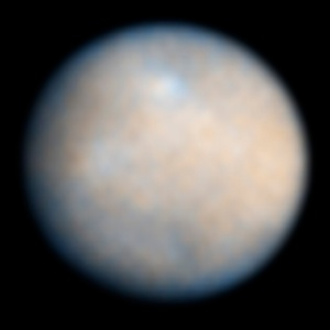 Ceres as seen by Hubble Space Telescope (ACS)